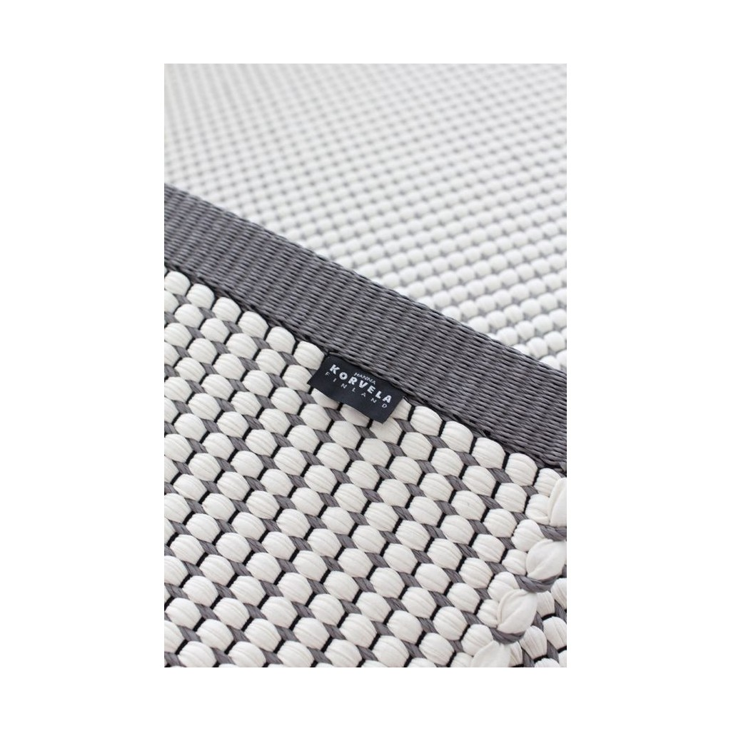 Dywan mata duetto 4 80x300 biało szary