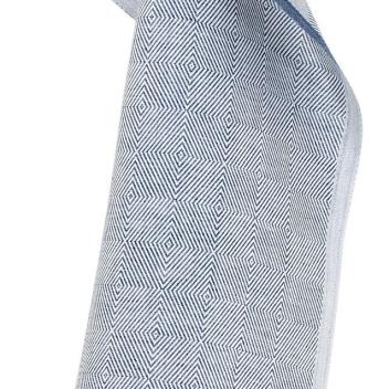Ścierka kuchenna Maria 48x70 Niebiesko-Biała