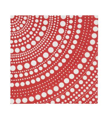 Serwetki Papierowe Kastehelmi 33x33 Czerwone