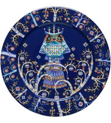 Talerz Taika 27 cm Niebieski