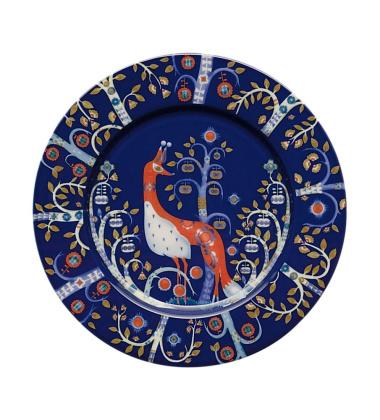 Talerz Taika 22 cm Niebieski