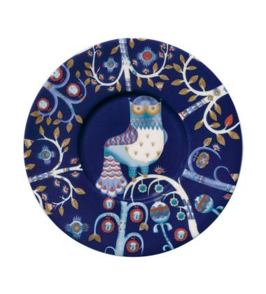 Taika Tea-Coffee-Cappuccino Saucer 15 cm Blue