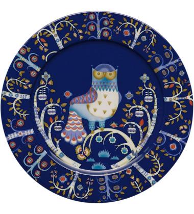 Talerz Taika 30 cm Niebieski