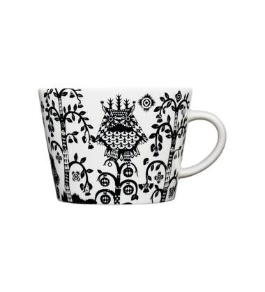 Taika Tea-Coffee-Cappuccino Cup 0,2L Black