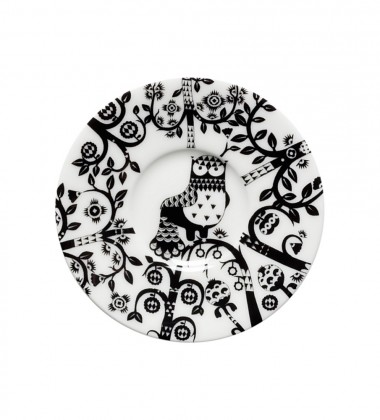 Taika Espresso Saucer 11 cm Black
