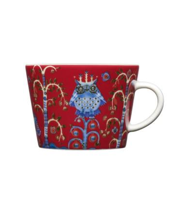 Filiżanka do Herbaty-Kawy-Cappuccino Taika 0,2L Czerwona