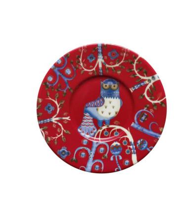 Podstawek do Filiżanki Taika 15 cm Czerwony