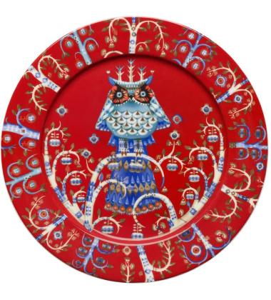 Talerz Taika 27 cm Czerwony