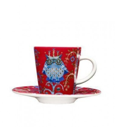 Taika Espresso Cup 0,1L Red