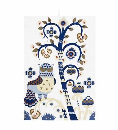 Taika Tea Towel 47x70 White
