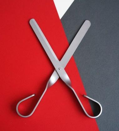 Nożyczki LAMA 19 cm Stal Szczotkowana