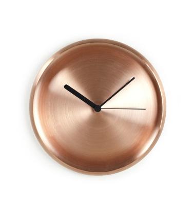 Turi Wall Clock 28 cm Copper