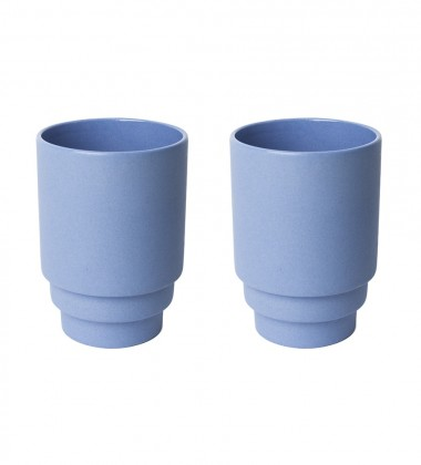 Monday Mug Set 2 Dark Blue