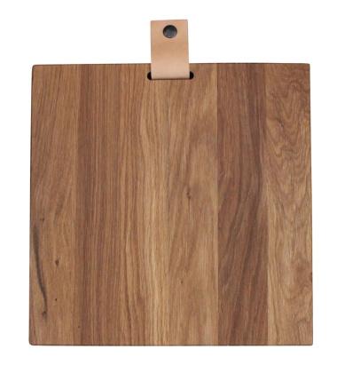 Cutting Board 30x30x3 Oak Tree
