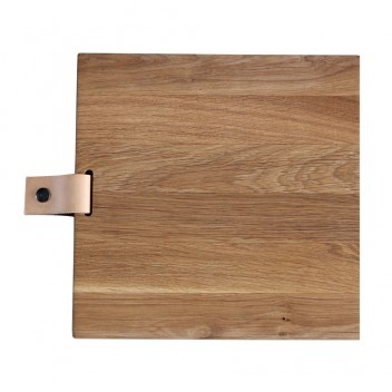 Deska do krojenia i serwowania 30x30x3 Dębowa