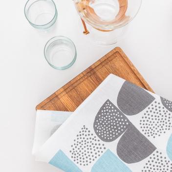 Ścierka kuchenna Sokeri 45x70 Niebieska