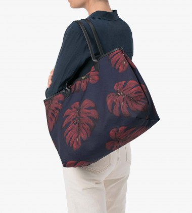 Torebka Tote Canvas Monstera Leaves