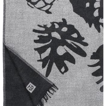 Koc Kapy X Teemu Jarvi 140x180 Czarno-Biały