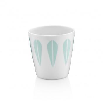 Kubek z porcelany Lotus Coffee 250 ml Miętowy