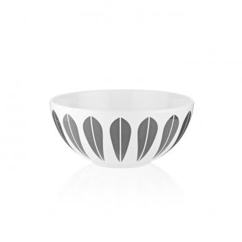 Misa z porcelany Lotus 18 cm Biało-Szara
