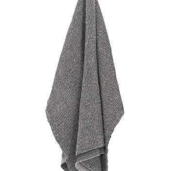 Ręcznik Terva 48x70 Czarno-Lniany