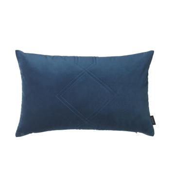 Poduszka Diamond Welur 40x60 Niebieska