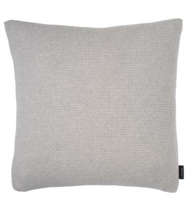 Poduszka z wypełnieniem Simple Knit 50x50 Szara