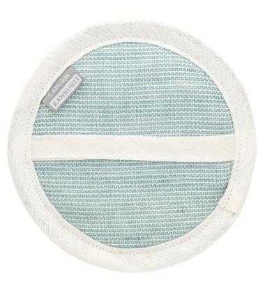 Myjka Onni Cosmetic Sponge 15 cm Biało-Turkusowy