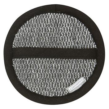 Myjka Meri Cosmetic Sponge 15 cm Biało-Czarna