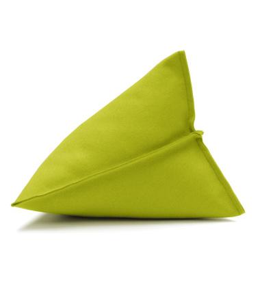 Poduszka z filcu Lily 44x44x35 Jasny Zielony 30