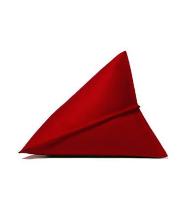 Poduszka z filcu Lily  44x44x35 Czerwona 11