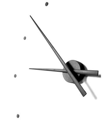 Zegar ścienny Oj Clock 80 cm Czarny