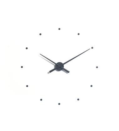 Zegar ścienny Oj Clock 80 cm Szary