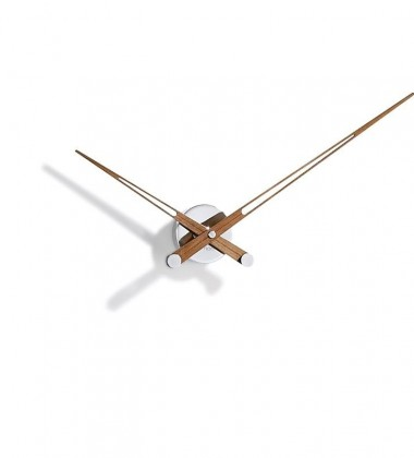 Zegar ścienny Axioma N 74 cm Orzech Amerykański