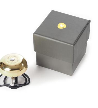 Dzwonek do roweru Gold Wishbone Złoty