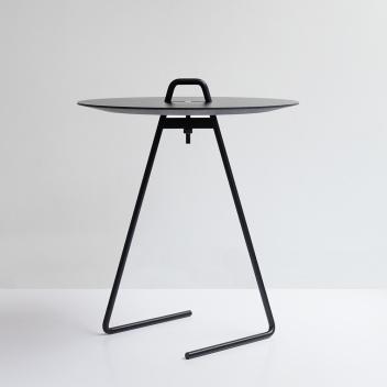 Stolik kawowy Side Table 42 cm Czarny