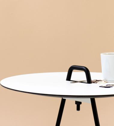 Stolik kawowy Side Table 42 cm Biały