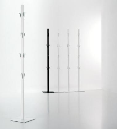 Wieszak podłogowy na ubrania WINDOW H190 cm Biały