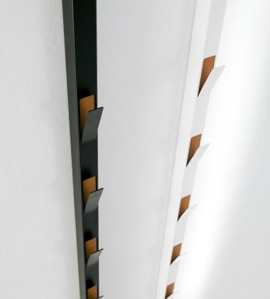 Wieszak ścienny WINDOW H220 cm Biały