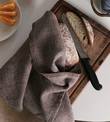 Ścierka kuchenna MONO 48x70 cm Brązowa