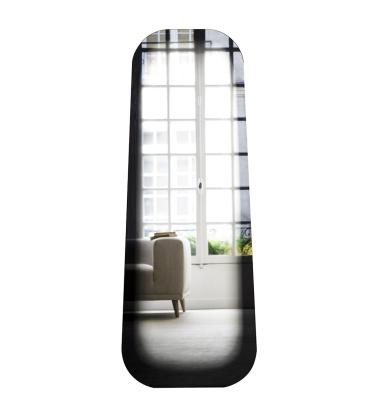 Lustro podłogowe Fading Mirror L H150 cm Czarne