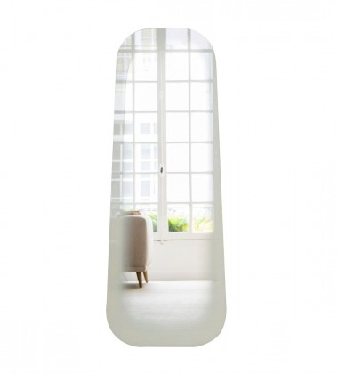 Lustro podłogowe Fading Mirror L H150 cm Białe
