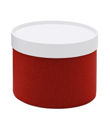Puf Drum 40x45 Felt 622 Czerwony
