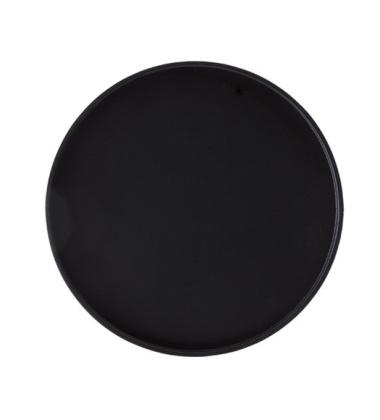 Stolik - Taca Drum Tray 47 cm Czarny