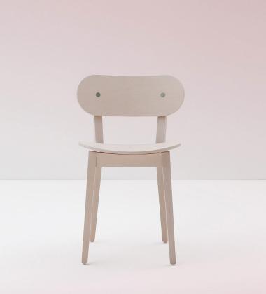 Krzesło lakierowane Gradisca 620 Białe Expo