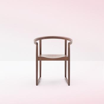 Krzesło z podłokietnikami Nordica 600 Mokka