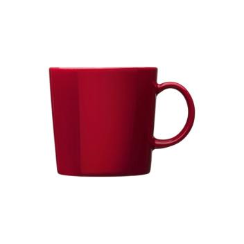 Kubek z porcelany Teema 300 ml Czerwony