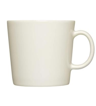Kubek z porcelany Teema 400 ml Biały
