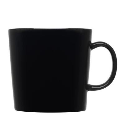 Kubek z porcelany Teema 400 ml Czarny