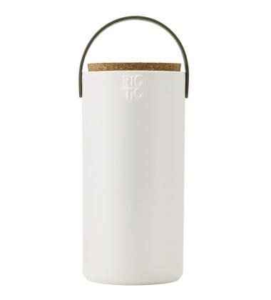 Pojemnik z ceramiki Hide-It H24 cm Biały